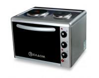 Мини готварска печка Елдом модел 203VFB