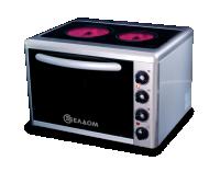Мини готварска печка Елдом модел 201VF