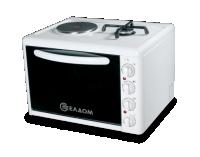 Готварска печка Елдом модел 213VFE